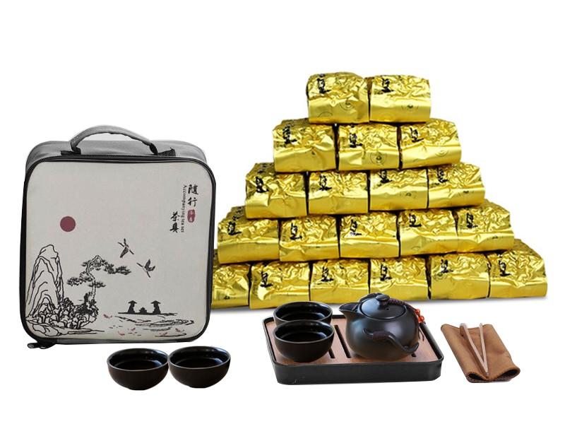 阿里山太和茶4斤/4500元 贈 陶瓷旅行茶具組